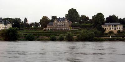 Nice homes along the Rhine