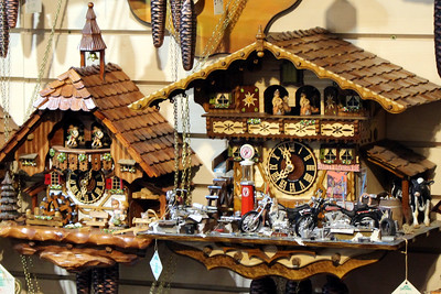 IF I was buying, the clock I would have purchased - on the right