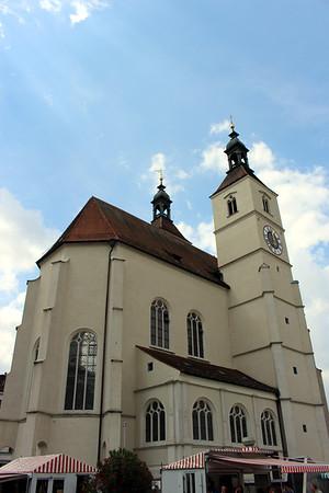 New Parish Church is the oldest Lutheran church in Regensburg