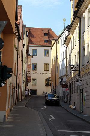 Regensburg is the oldest city along the Danube