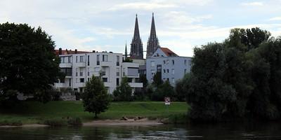 departing Regensburg