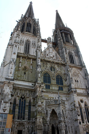 St. Peter's Cathedral,  widely considered Bavaria's best Gothic architectural work
