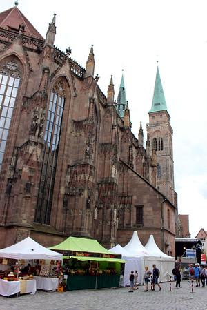 St.  Sebald (patron saint of Nuremberg) church