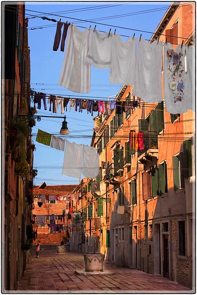 Laundry Day, Venice, Italy