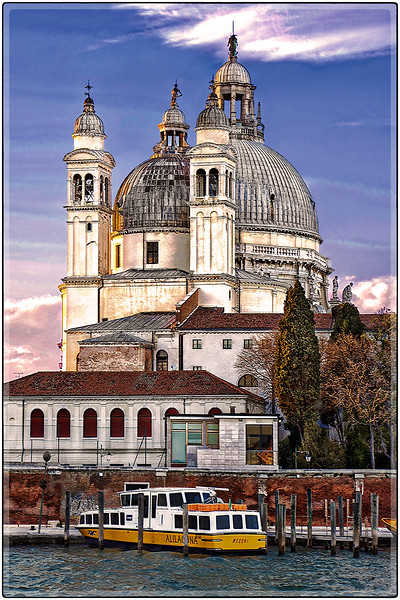 Domes and Towers, Venice, Italy
