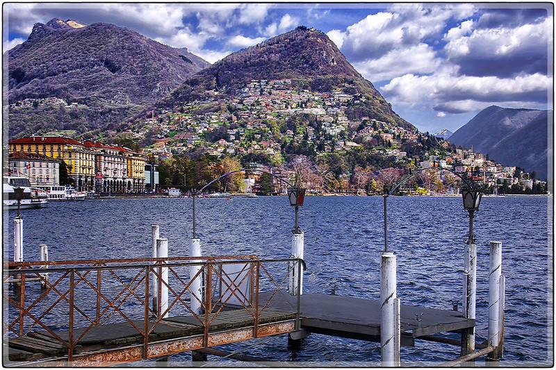 Abandoned Pier, Lugano, Switzerland