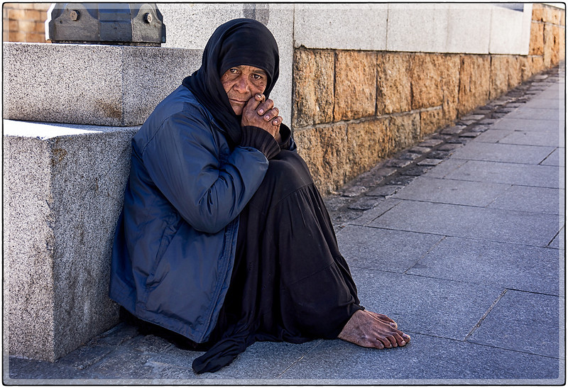 Street Beggar, Madrid, Spain