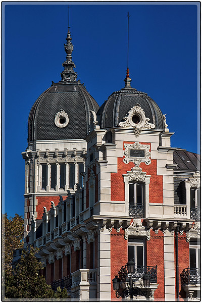 Twin Domes, Madrid Spain