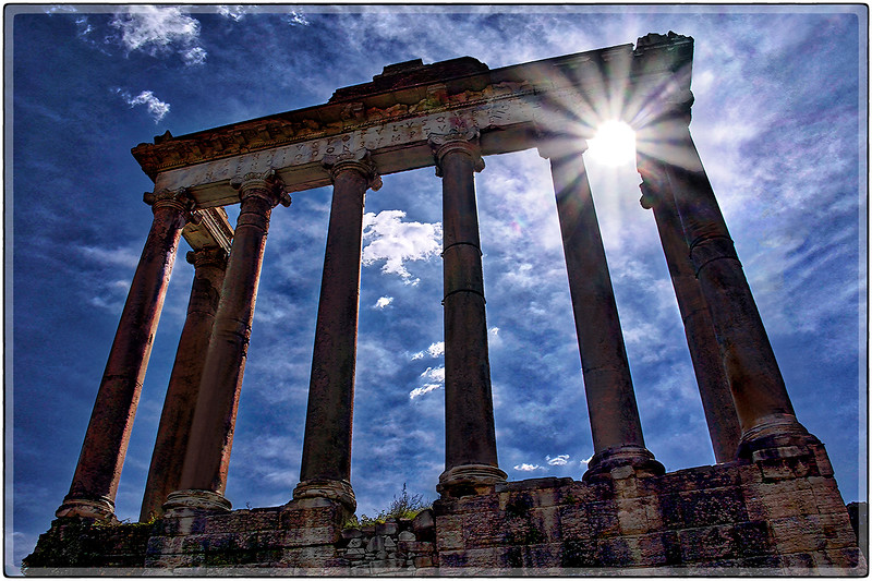 Remnants of Time, Southern Rome, Italy