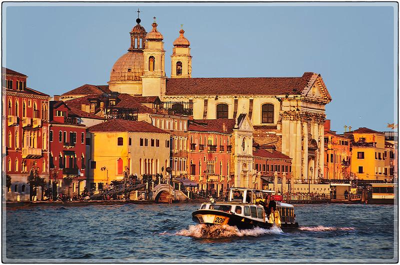 Sunset Light, Venice, Italy