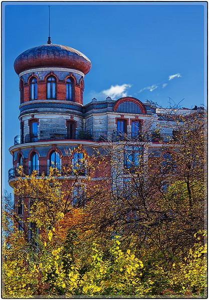 Moorish Architecture, Madrid, Spain