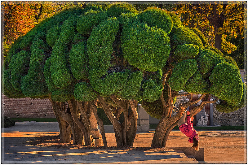 Jardines del Descubrimiento, Madrid, Spain