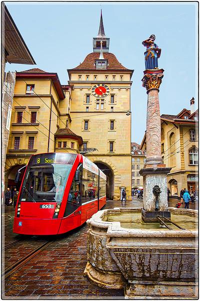 The 653 to Saali, Berna, Switzerland