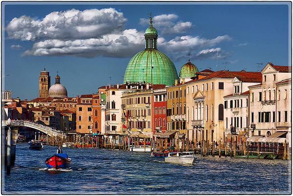 The Grand Canal, Venezia, Italy