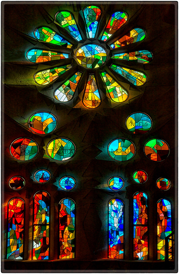 Patterns in Stained Glass
