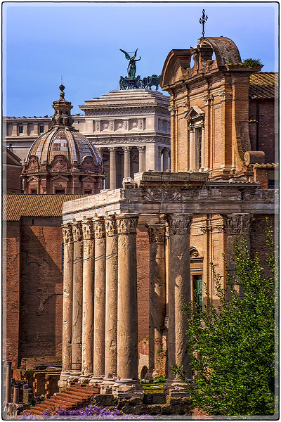 Roman Architecture, Southern Rome, Italy