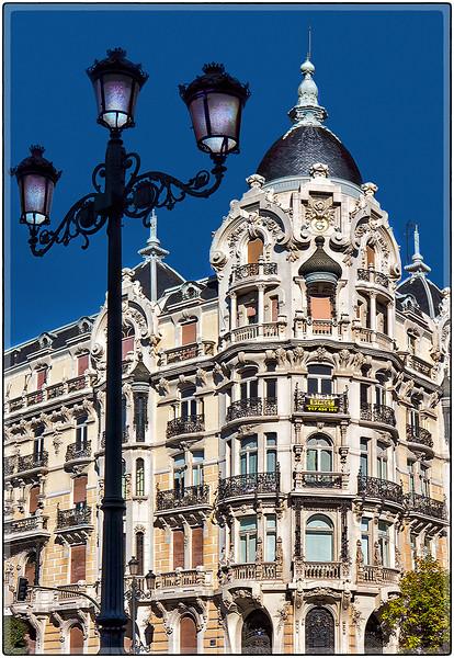 Classic Architecture, G Building, Madrid, Spain