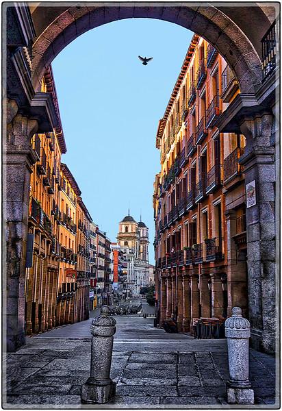 Calle del Toledo, Madrid, Spain