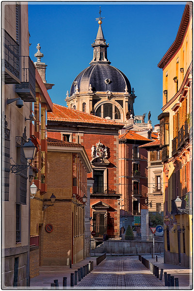 Calle Sacramento, Madrid, Spain