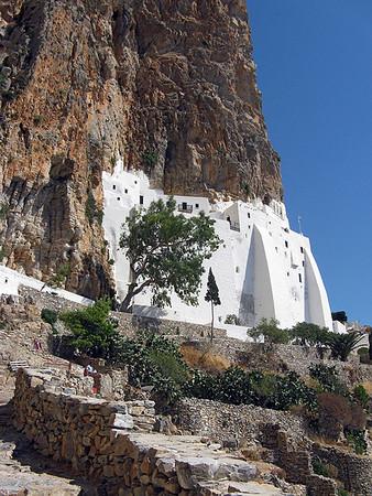 Hozoviotissa Monestry, Amorgos.