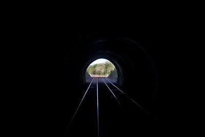 Light at the end of the tunnel.