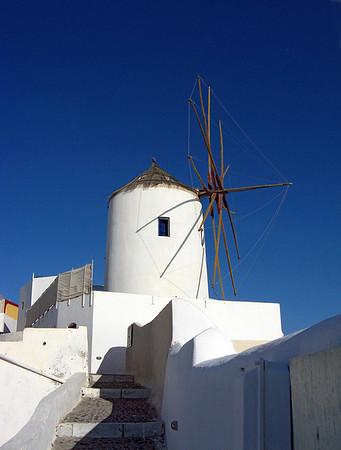 Windmill, Santorina
