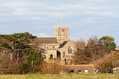 St. Andrews Church, Clevedon. Used in ITV's crime drama Broadchurch.