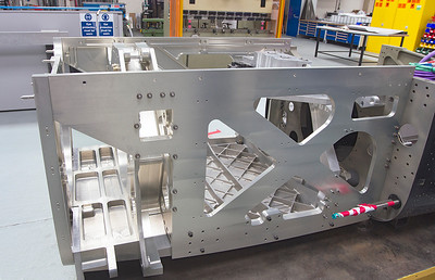 Bloodhound SSC lower chassis rear end..