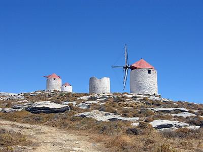 Windmills Amorgos.