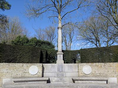 Mells village war memorial.