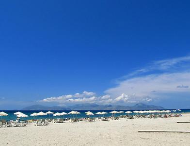 Kalymnos from Mastihari beach.