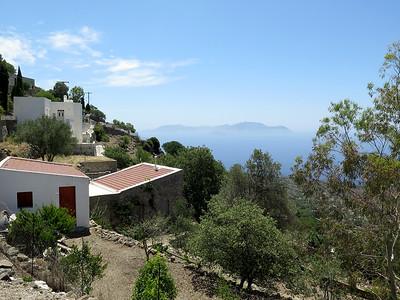 Nikia, Nisiros looking towards Tilos. June 2016.