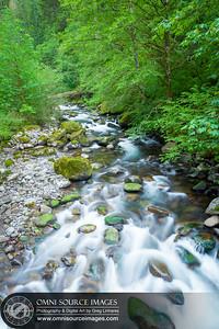 Eagle Creek at 4.5 Mile Bridge, Oregon