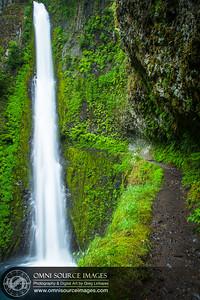 Eagle Creek Trail at Tunnel Falls Oregon