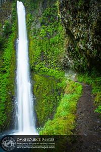 Eagle Creek Trail at Tunnel Falls Oregon