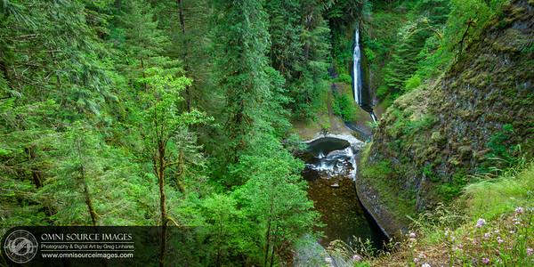 Loowit Falls from Eagle Creek Trail, Oregon