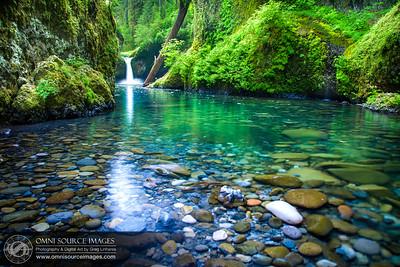 Punch Bowl Falls - Eagle Creek Trail, Oregon