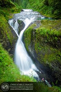 Twister Falls - Eagle Creek, Oregon