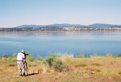 7/5/05 Gil birding Eagle Lake (off Hwy 139). Lassen National Forest, Lassen County, CA