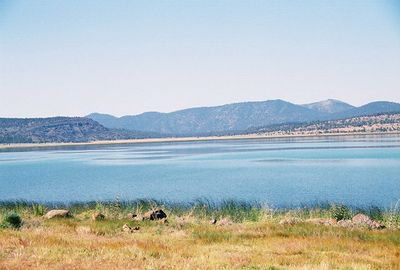 7/5/05 Eagle Lake from Hwy 139. Lassen County, CA