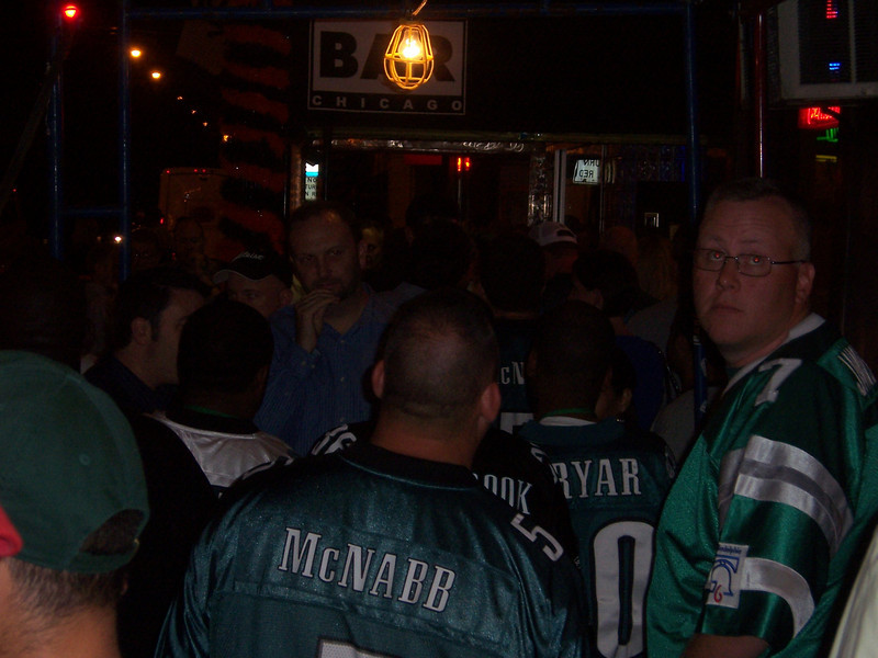 Yep, this is where you want to be, Eagles fans.