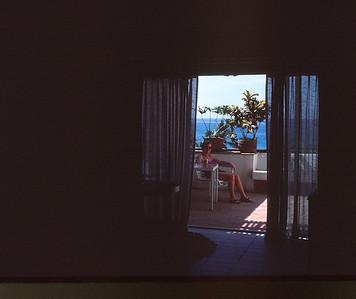 Puerto Vallarta--Looking out to lanai