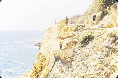 Cliff Divers--Le Quebrada