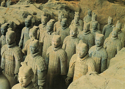 Some of the Terra Cotta Soldiers--Xian