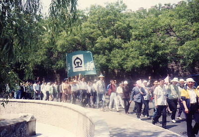 Groups of Workers Supporting Students