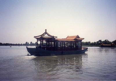 Ferry Boat at Summer Palace on Kunming Lake