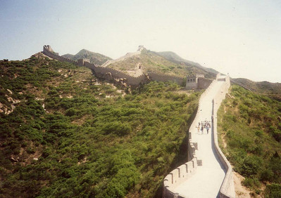 More of Great Wall--Broad Enough for 5 Cavalrymen or 10 Infantrymen Marching Abreast