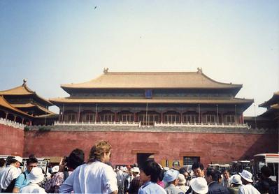 China--May 14-June 15, 1989--Beijing--Entrance to Forbidden City
