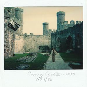 Conwy Castle, built 1250