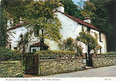 Wordsworth's Cottage in Grasmere, Lake District